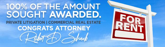 Robert-D-Schaub-Commercial-Real-Estate-Litigation-Wilkes-Barre-PA