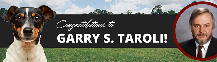 Congratulations Garry S. Taroli