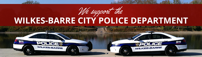 RJG Supports the Wilkes-Barre City Police Department