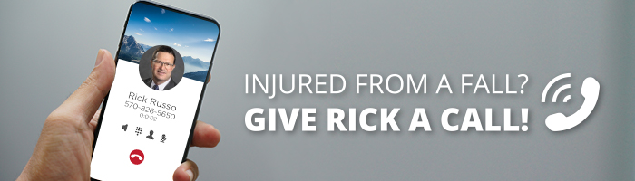 Injured from a fall? Give Rick a call!
