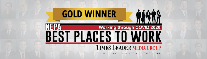 RJG Law - Gold Winner of Best Places to Work 2020 - Times Leader Media Group
