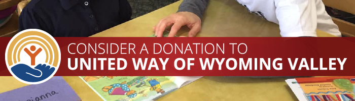 Consider a donation to the United Way of Wyoming Valley