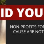 Did you know? Non-profits for use with a charitable cause are not automatically exempt from federal taxation