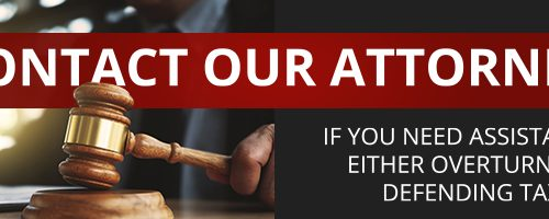 Contact our attorneys if you need assistance in either overturning or defending tax sales