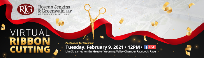 RJG Ribbon Cutting - February 9th, 2021