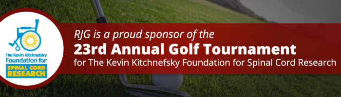 Rosenn, Jenkins & Greenwald is a Proud Sponsor of the 23rd Annual Golf Tournament for The Kevin Kitchnefsky Foundation for Spinal Cord Research