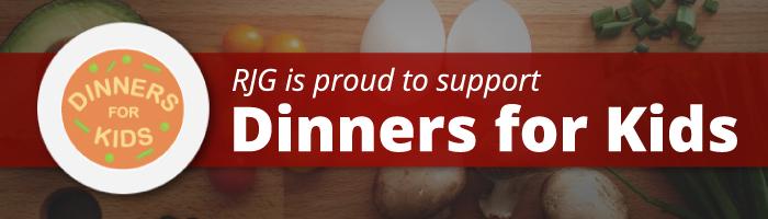 Rosenn, Jenkins & Greenwald is Proud to Support Dinner For Kids