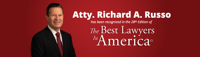 Attorney Richard Russo has Been Recognized in the 28th Edition of The Best Lawyers in America©
